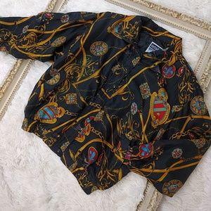 Vintage Deadstock 1980 Moto Sport Silk Jacket sz s